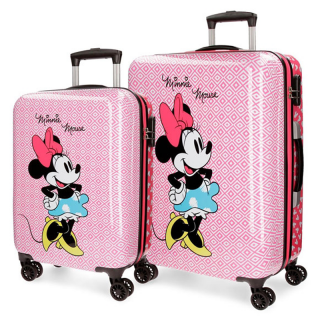 Set kofera Minnie Rombos ABS  44.119.61