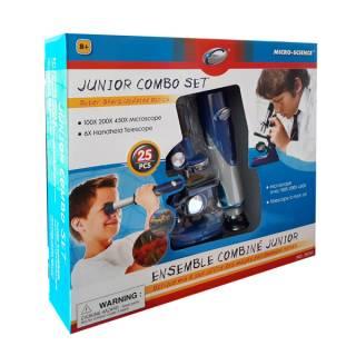 Set mikroskop + durbin 20341