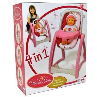 Stolica visoka za lutke 4 u 1 Klein KL1682