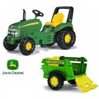 Traktor na pedale Rolly X TRACK JD sa prikolicom 035762