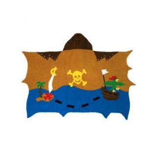 Ogrtač Kidorable - peškir pirat, za plažu i kupanje-mali