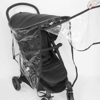 Zaštita za kolica 3-u-1 (komarci, kiša, sunce)