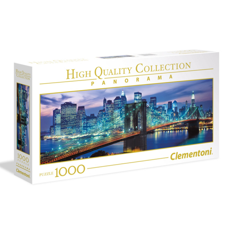 Clementoni puzzla Panorama NY Brooklyn Bridge 1000pcs 39434