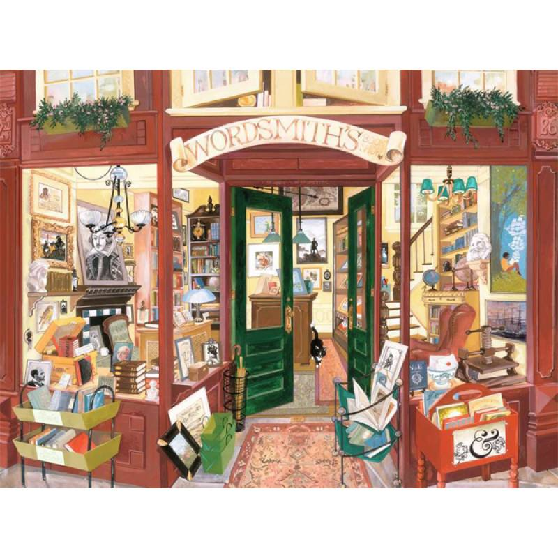 Ravensburger puzzle Wordsmiths Bookshop RA16821