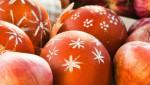 Farbanje jaja ljuskom od crnog luka