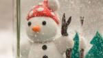 Napravite snežne praznične kugle