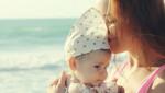 Sa bebom na more tek kada napuni tri meseca