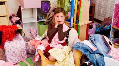 Kako naučiti decu da sređuju svoju sobu?