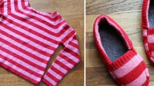 Tople patofne od starog džempera