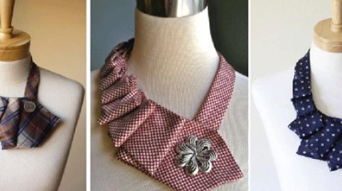Napravite ogrlicu od kravate
