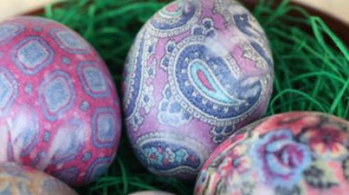 Šaranje jaja u svili
