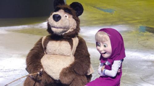 Maša i medved u najvećem ledenom spektaklu u Areni