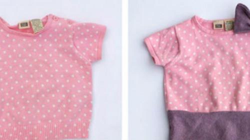 6 kreativnih ideja od odeće za bebe
