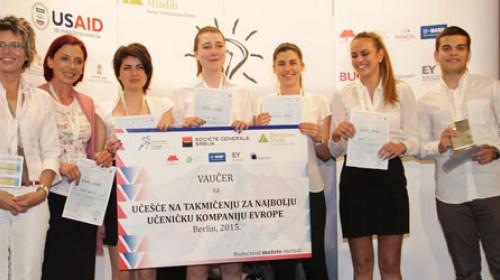 Završeno Nacionalno takmičenje najboljih učeničkih kompanija