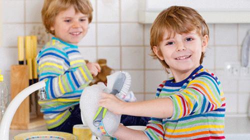 Kada vam dete može pomagati u kućnim poslovima?