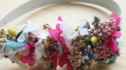 Napravite cvetni rajf