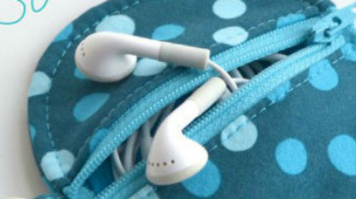 Napravi sama: Torbica za slušalice