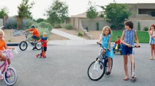 Ulice pripadaju i deci
