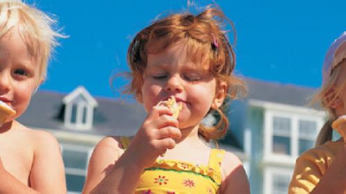 Grlo strada od sladoleda