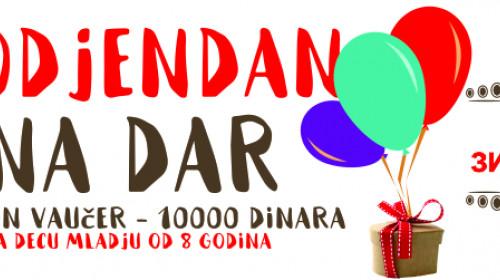 Poklanjamo deset vaučera za proslavu najlepših rođendana!