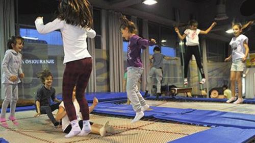 Sportski rodjendani uz gimnastiku, trambolinu i akrobatiku!