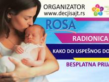 Rosa radionica dojenja