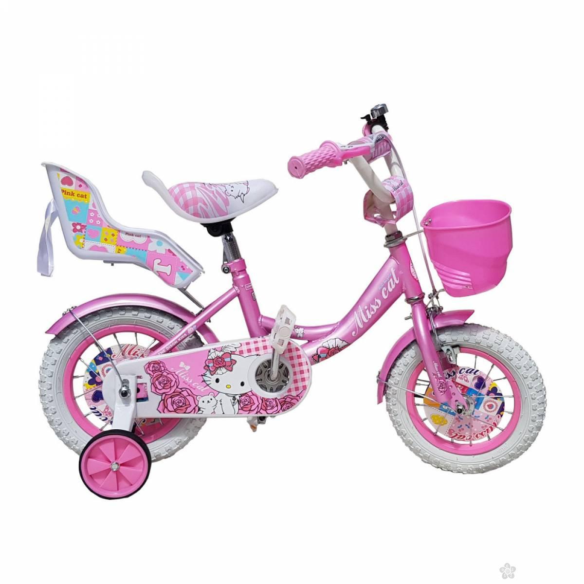 Bicikl za decu model 708-16″ Miss Cat rozi