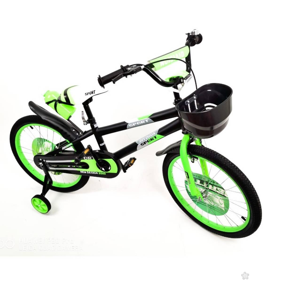 Bicikl za decu Model 720-20″ Sport Division zeleni