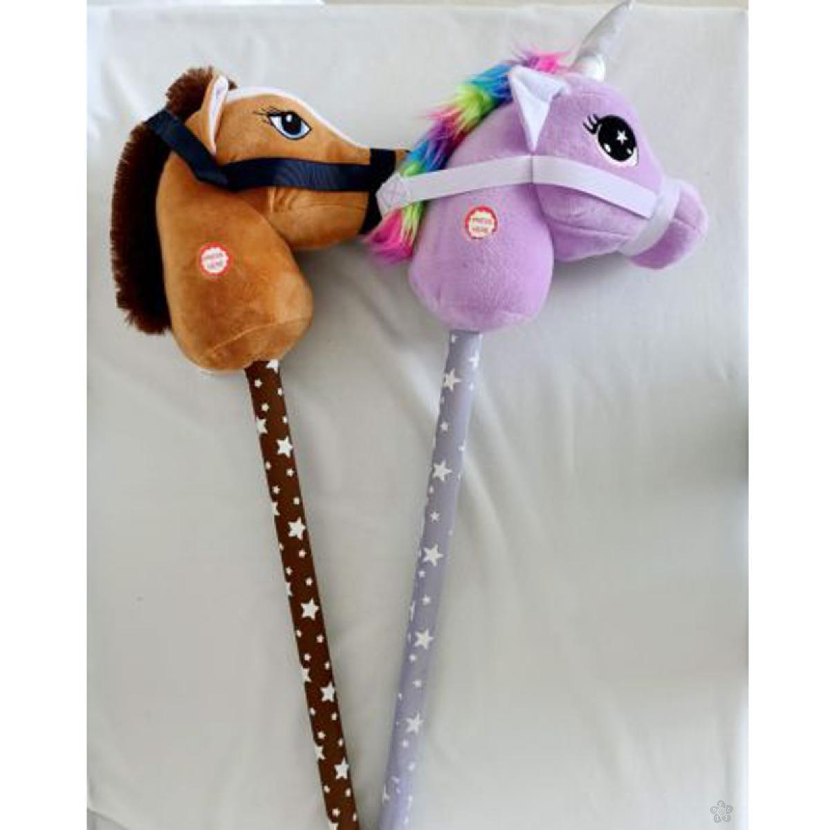 Plišani konj na štapu