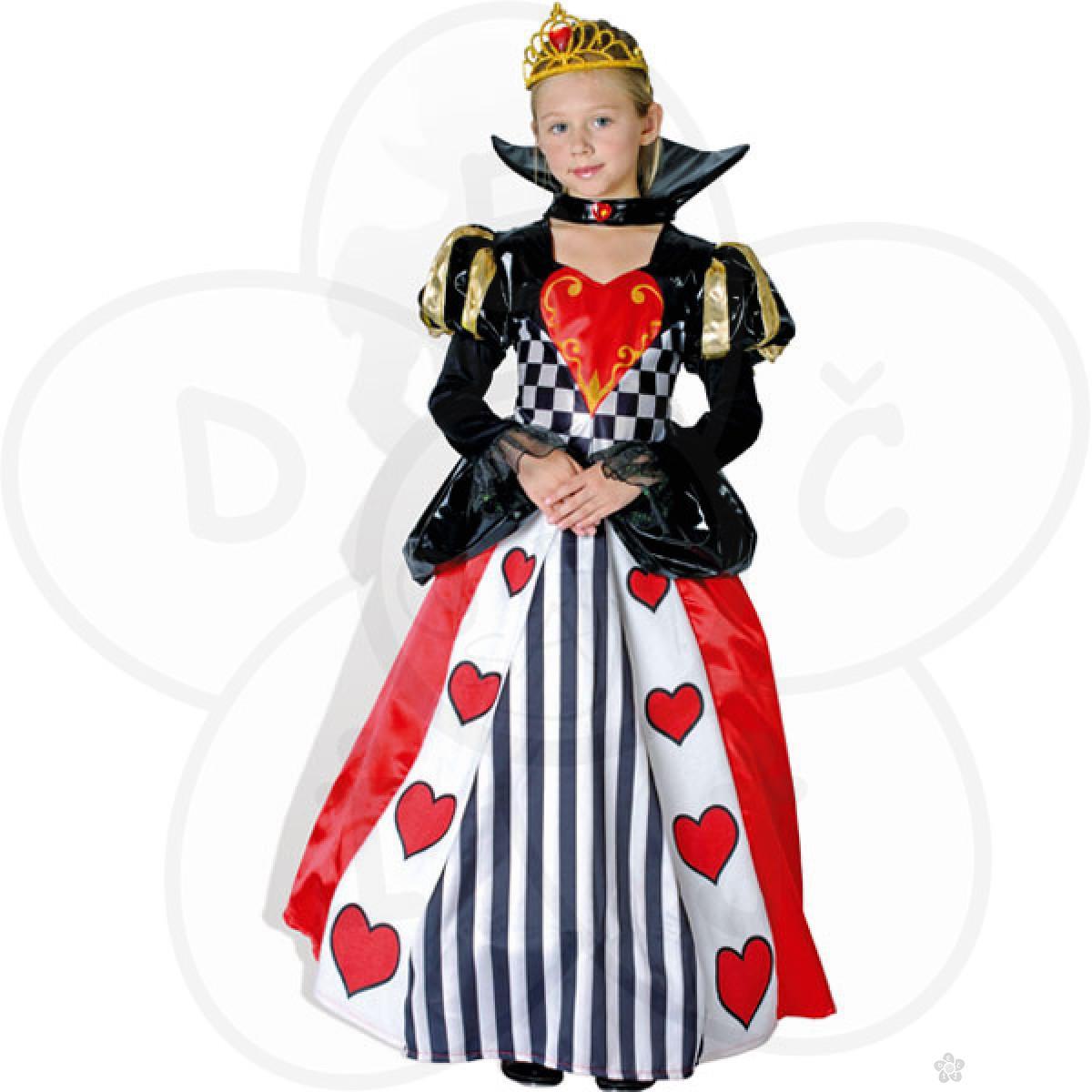 Kostim kraljica srce