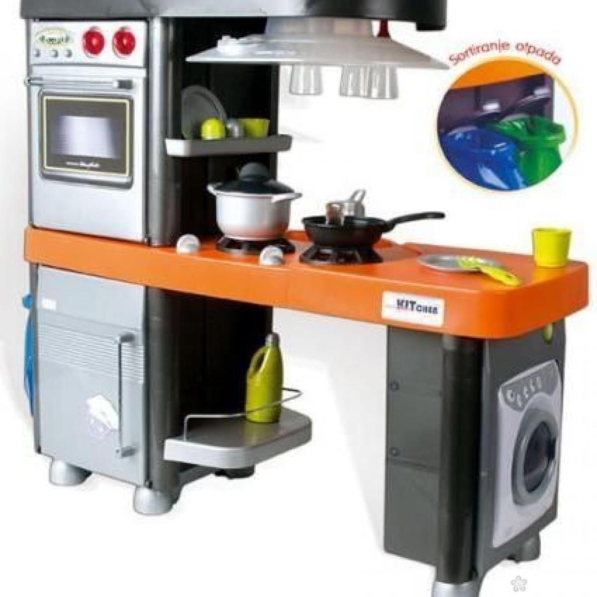 Elektronska kuhinja sa elementima