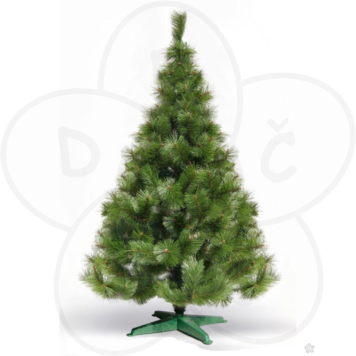 Bor - zelena novogodišnja jelka, 220cm