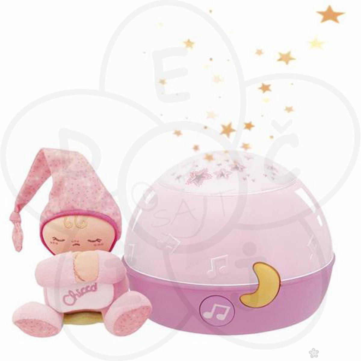 Chicco muzički projektor Uspavane zvezde (fd)-roze