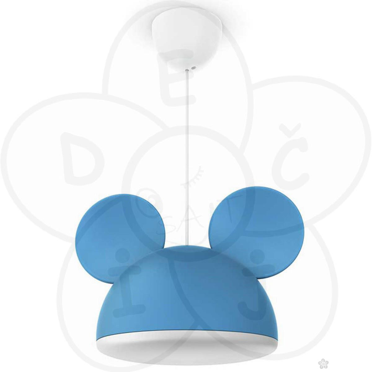 Philips luster Mickey Mouse pendant blue