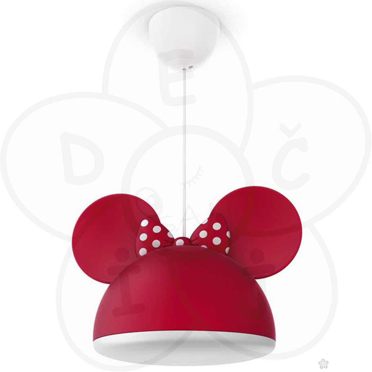 Philips luster Minnie Mouse pendant red