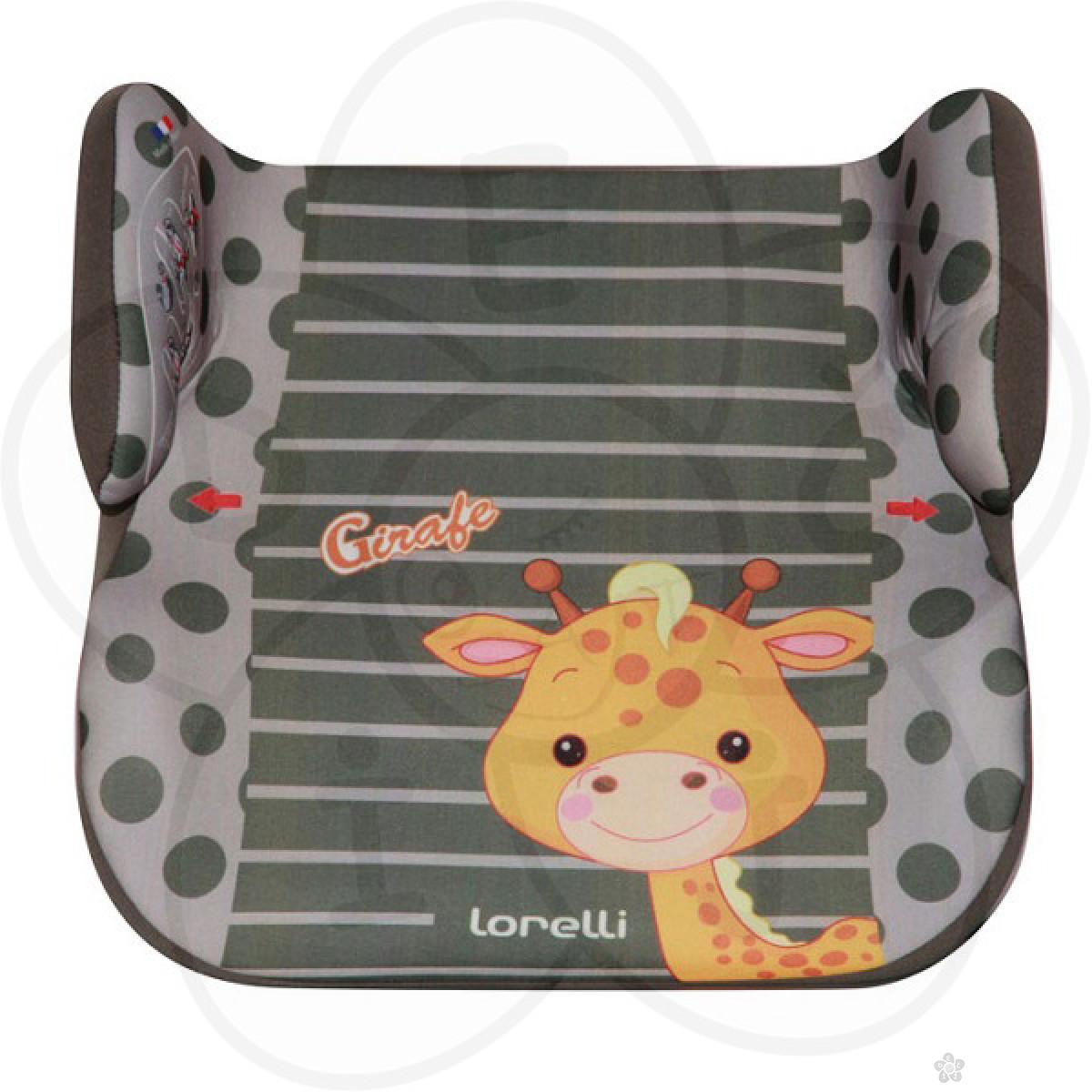 Auto Sedište Topo Comfort Animals Giraffe 15-36kg