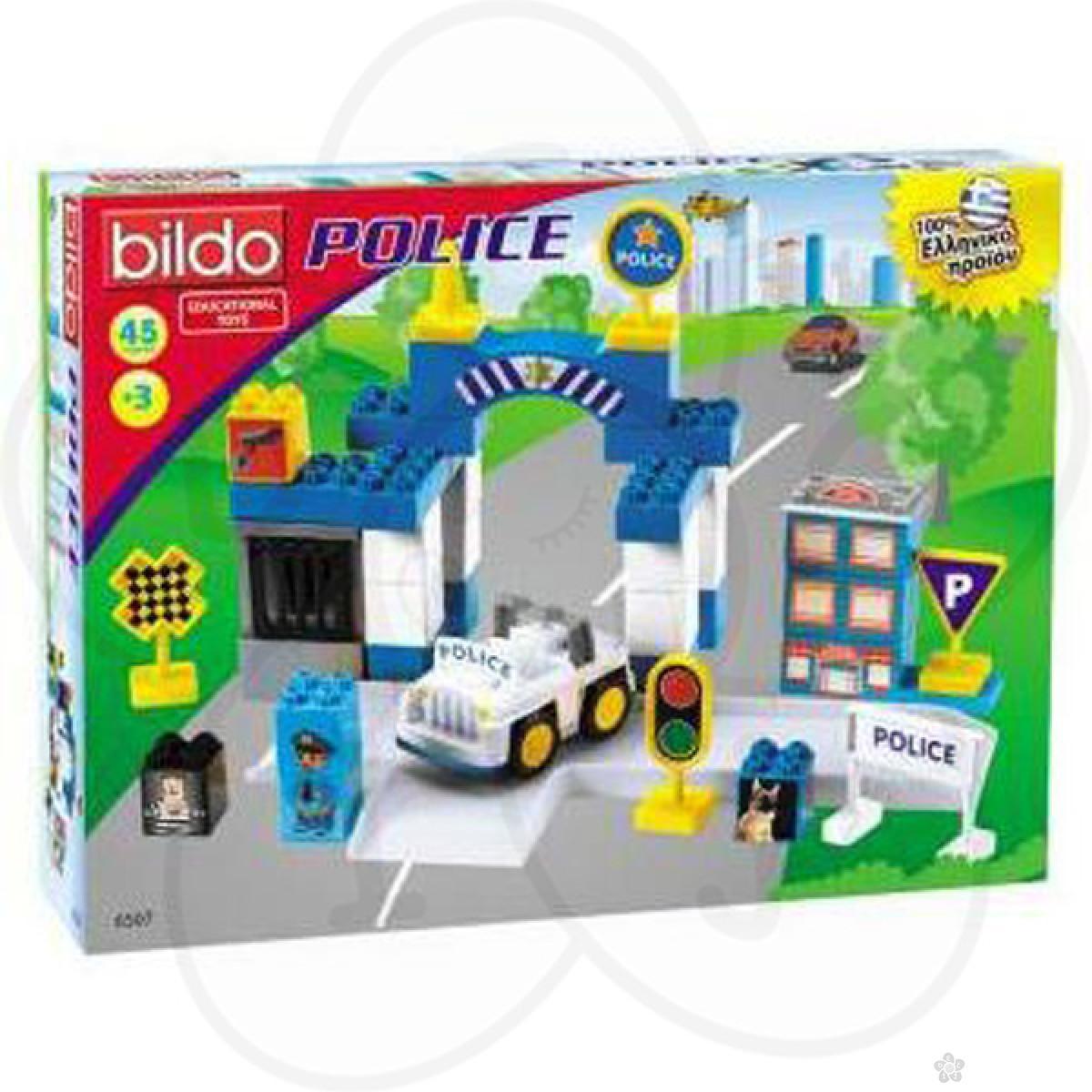 Konstruktor set - policijska stanica Milenijum 04-6507