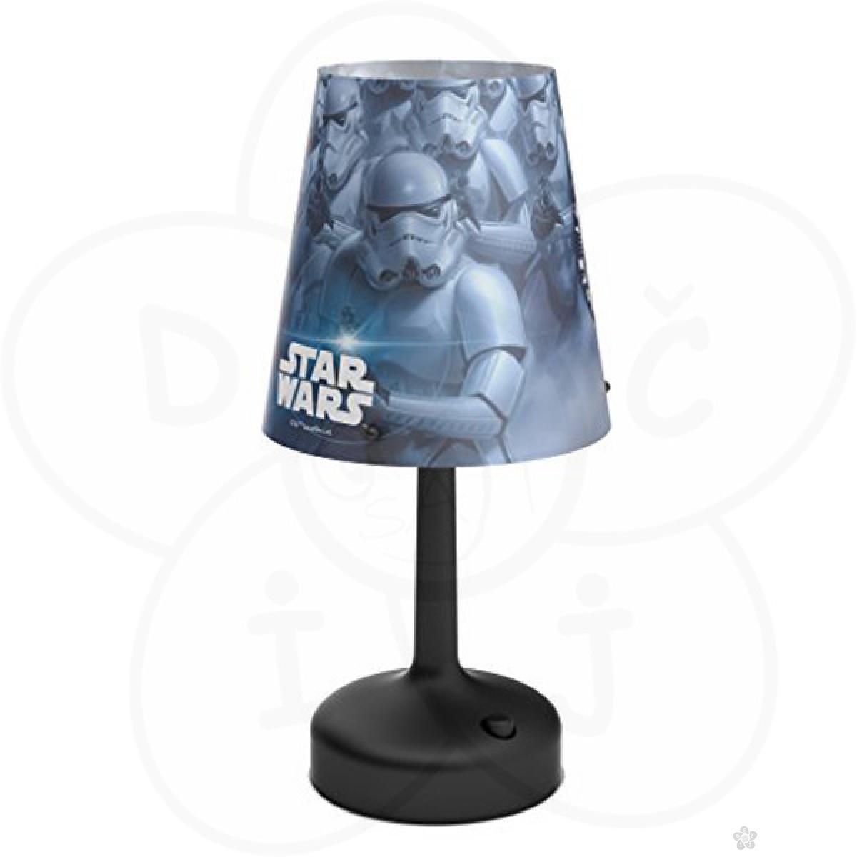 Stona lampa Philips Stormtrooper-Black Star Wars