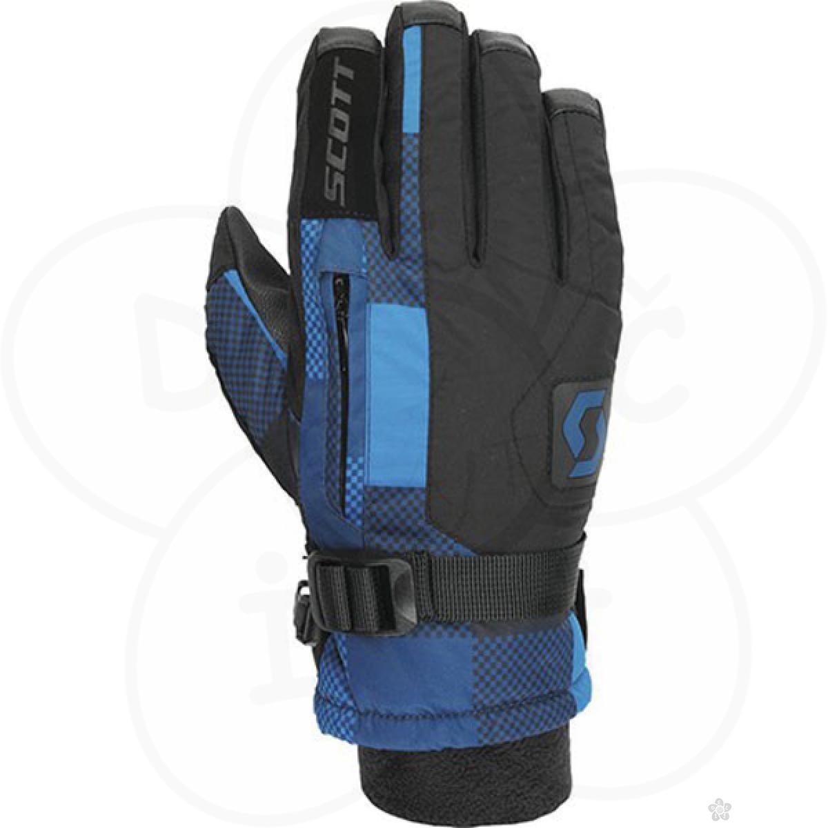 Ski rukavice Scott dečije Gripper black plaid SC2200571804