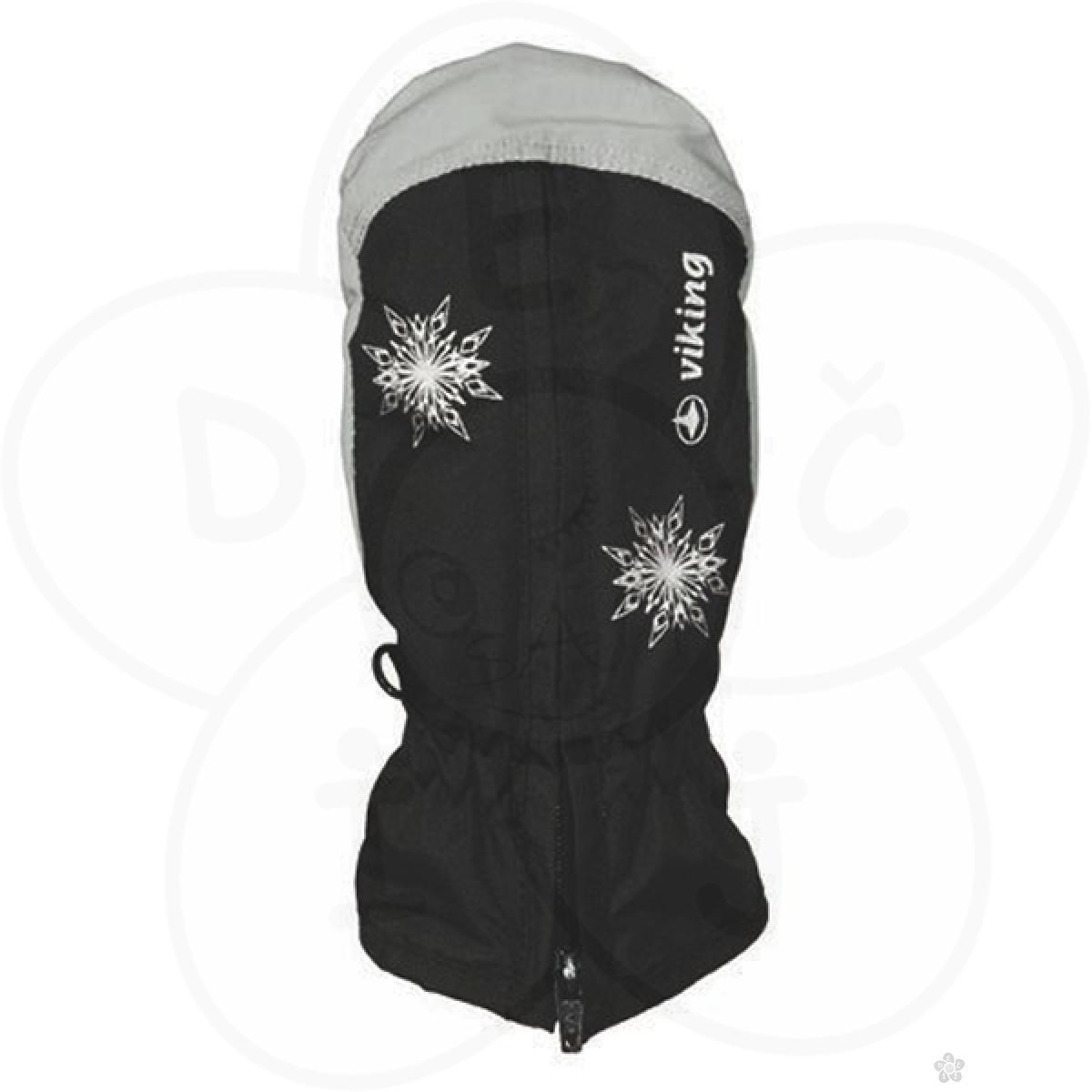 Ski rukavice Viking kid starlet black grey SSKI12515519509