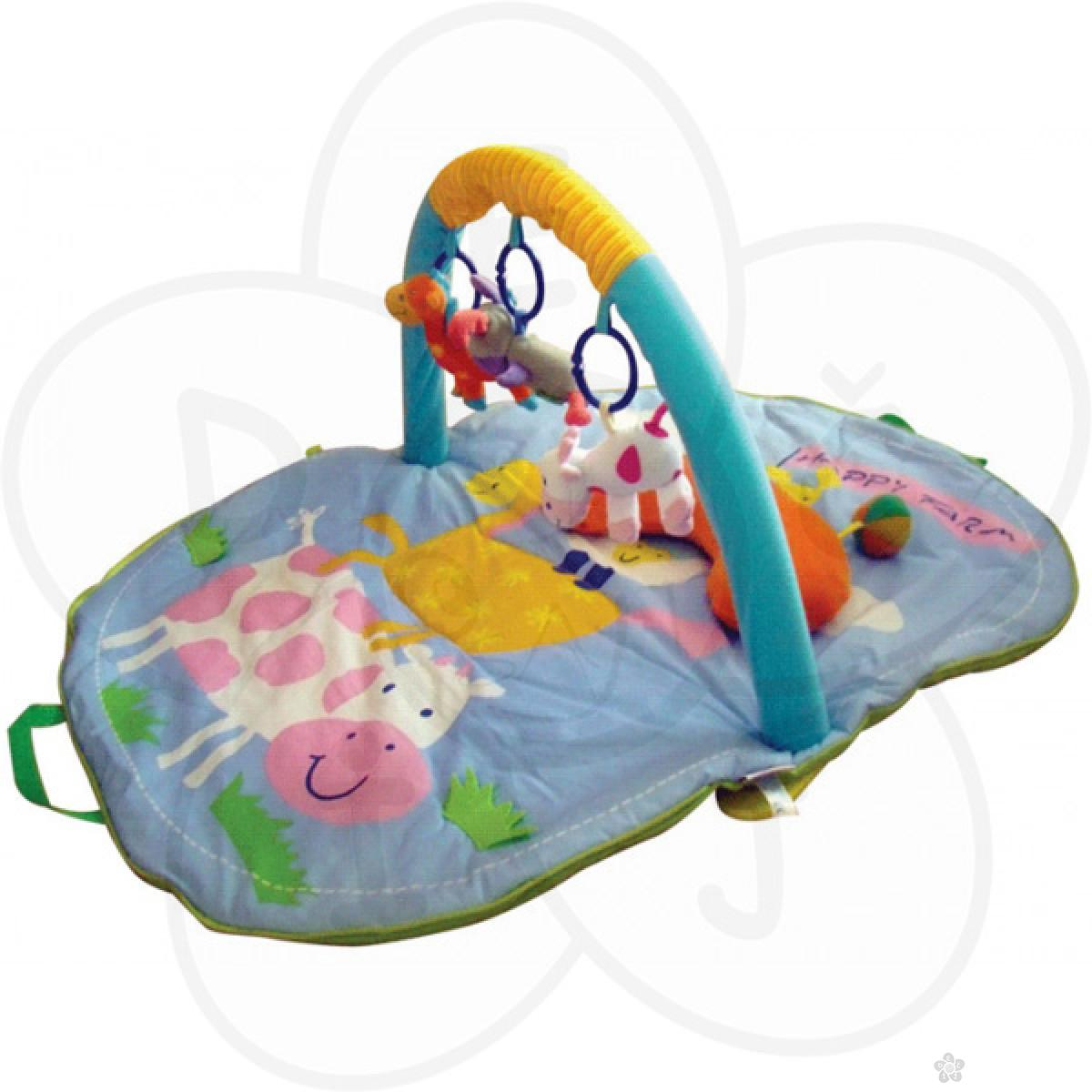 Biba Toys bebi gimnastika žirafa i kravica