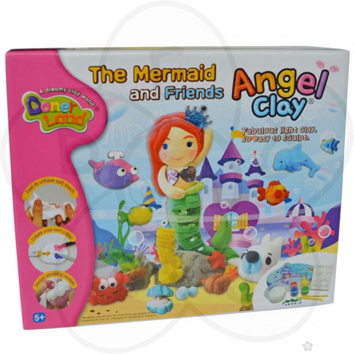 Igračke Angel Clay masa za oblikovanje - Mala sirena