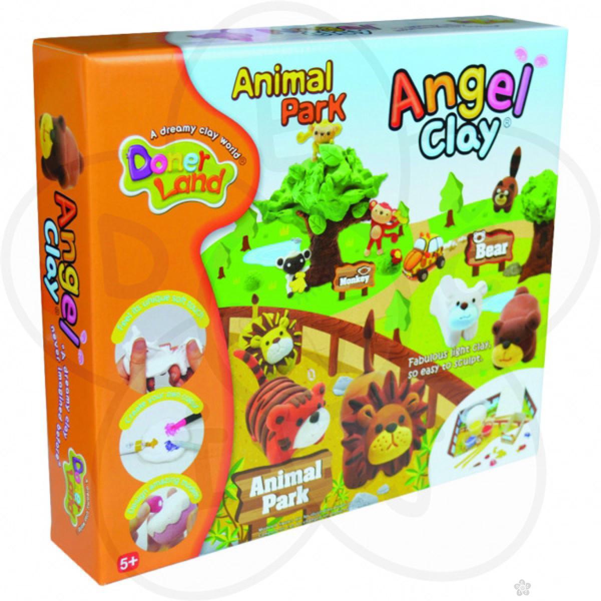 Igračke Angel Clay masa za oblikovanje Životinjski park
