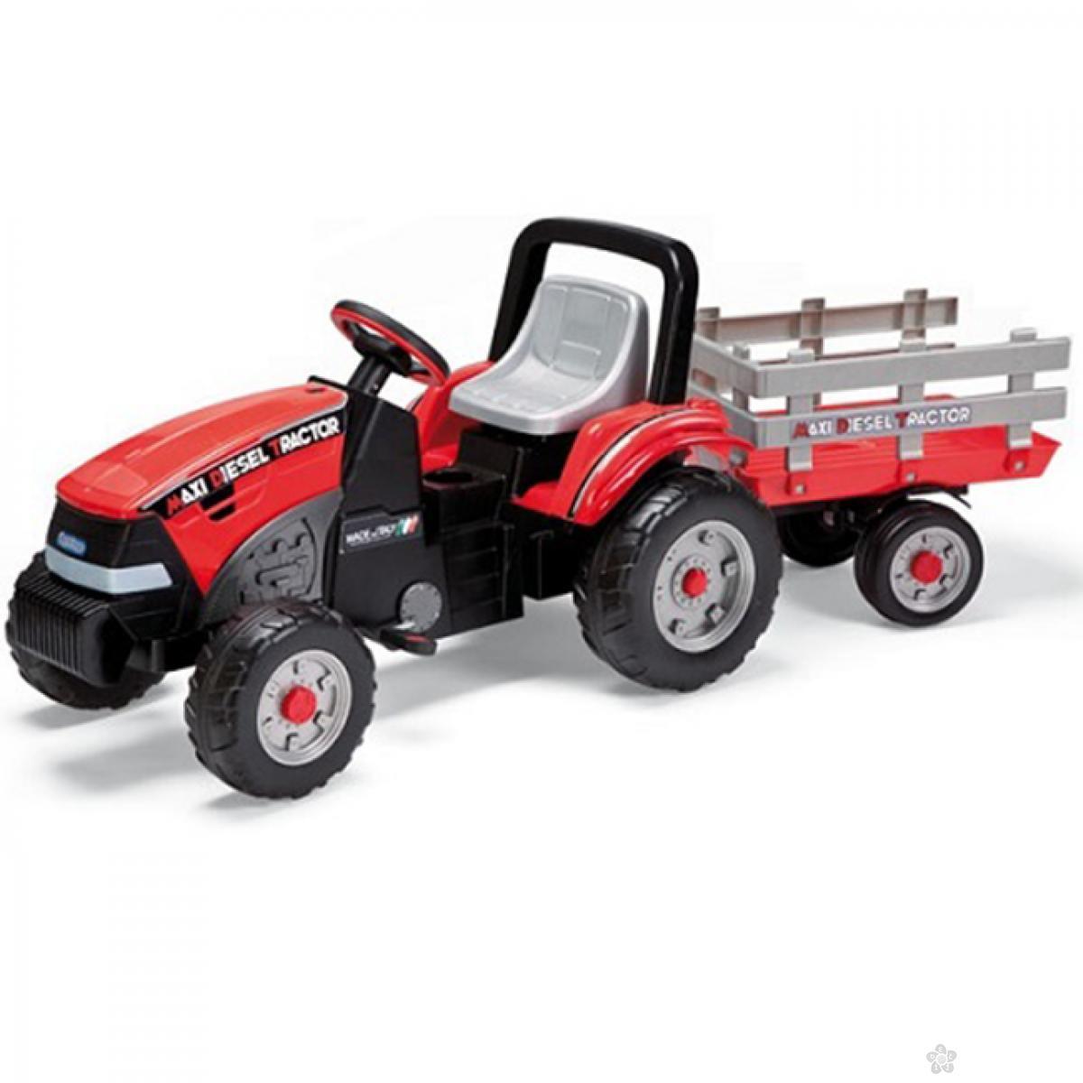 Maxi Diesel Traktor