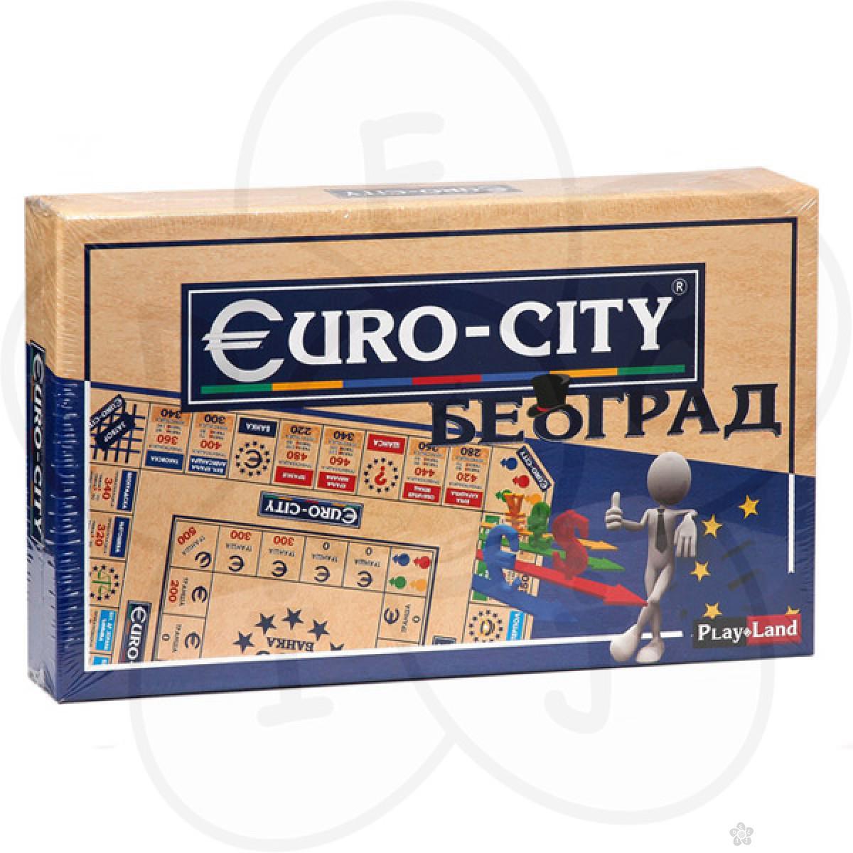 Euro-City Beograd, društvena igra