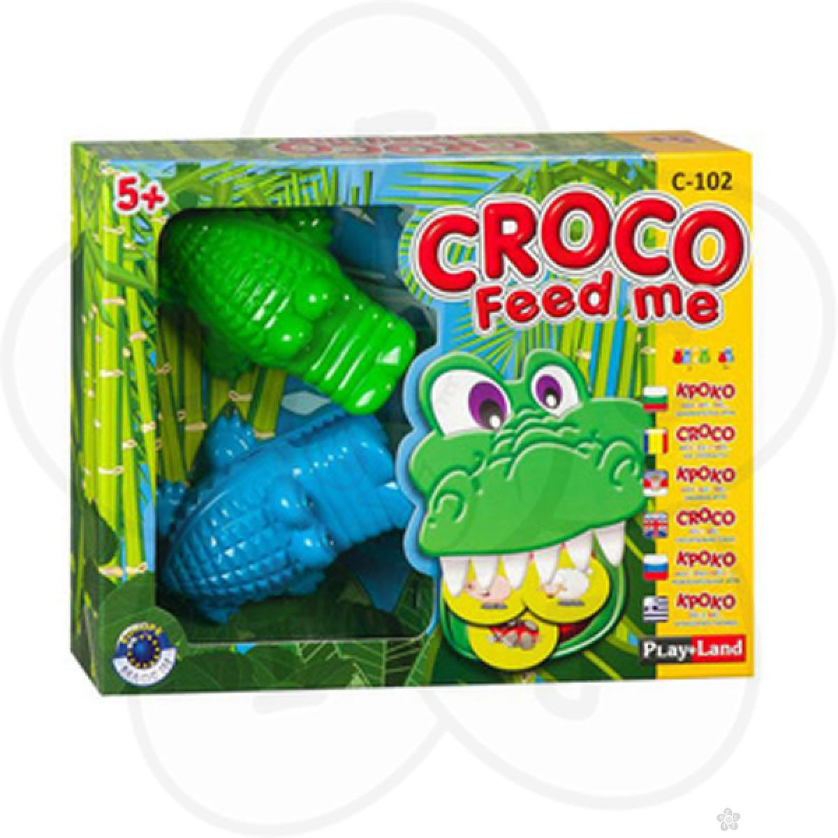 PlayLand Croco Feed me