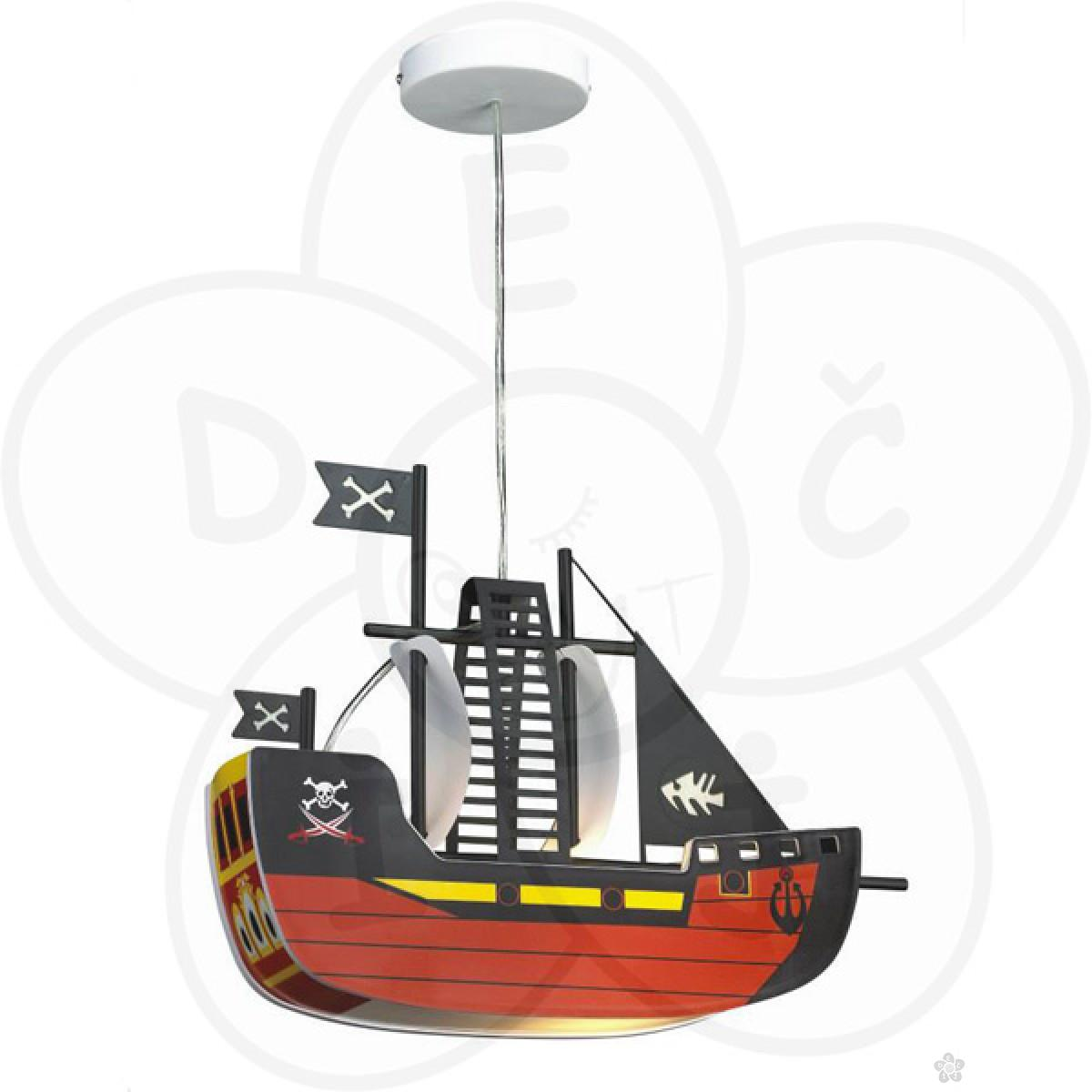 Visilica brod, crveni