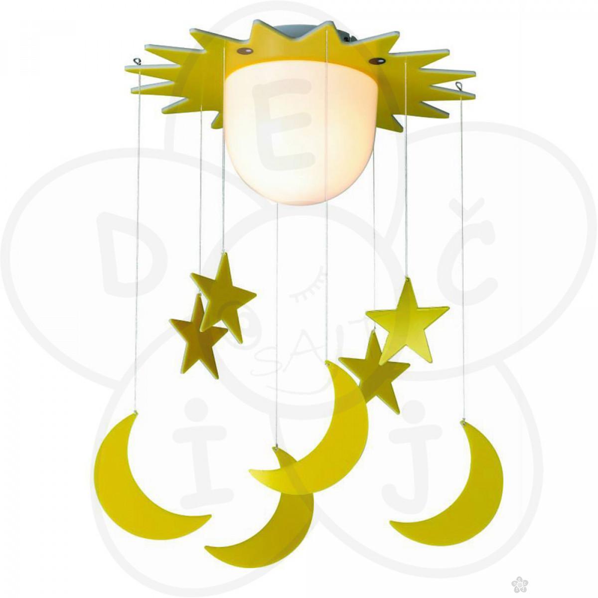 Luster za decu - mesec i zvezdice