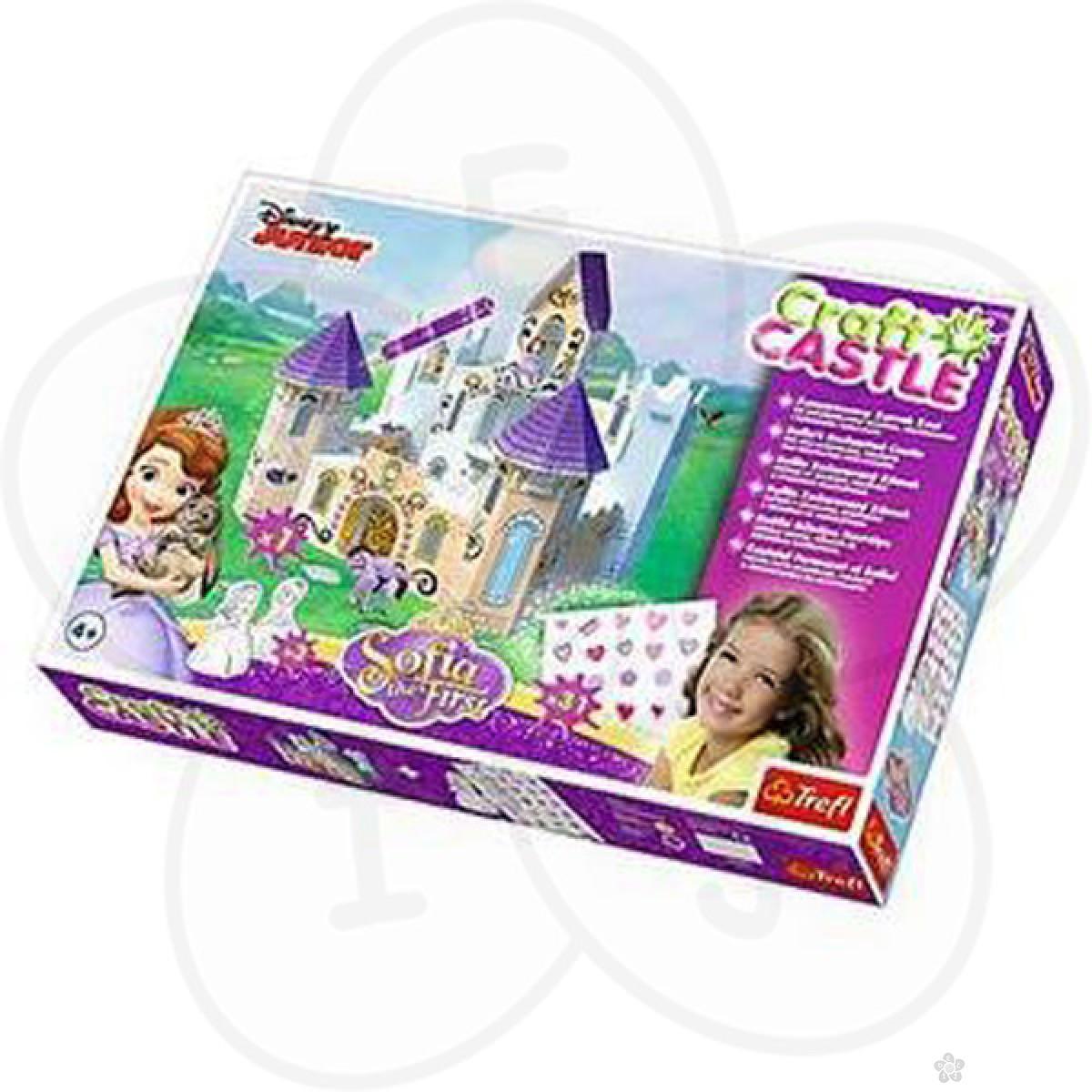 Puzzle za decu Trefl napravi svoj dvorac Sofia the First 20082
