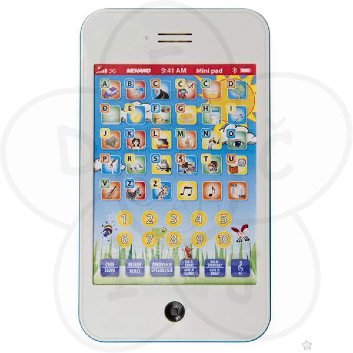 Igračke Mehano interaktivni tablet Pad E285